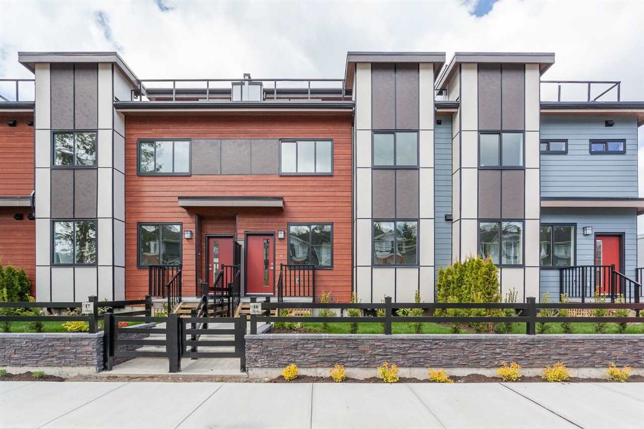 "Main Photo: 5 16355 23RD Avenue in Surrey: Grandview Surrey Townhouse for sale in ""Quinn"" (South Surrey White Rock)  : MLS®# R2231797"