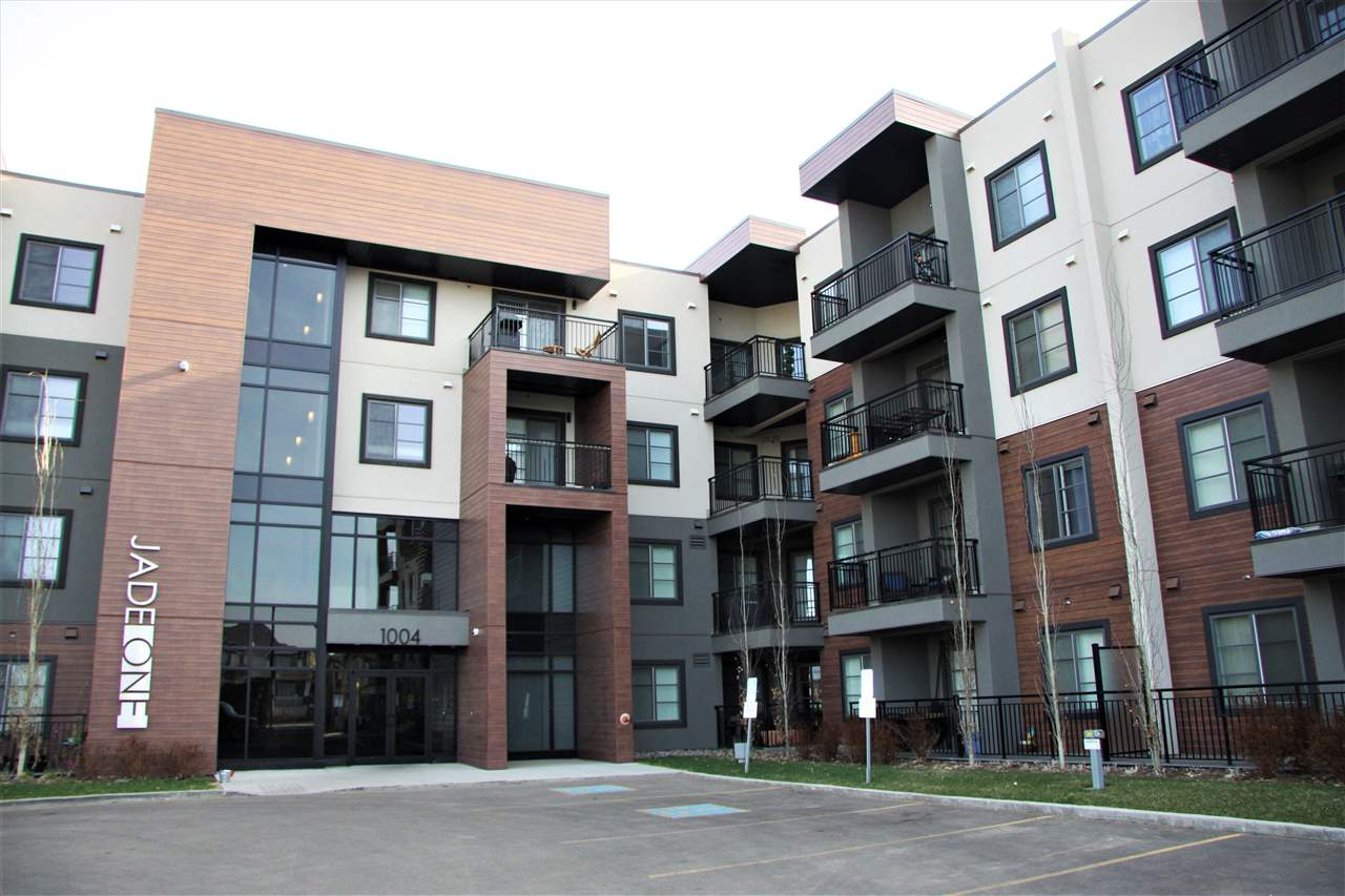 Main Photo: 210 1004 ROSENTHAL Boulevard in Edmonton: Zone 58 Condo for sale : MLS®# E4109775