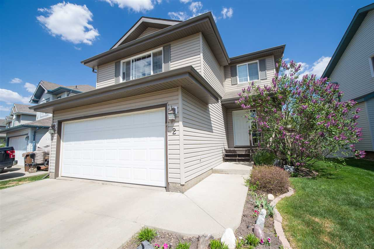 Main Photo: 2 EVERWOOD Close: St. Albert House for sale : MLS®# E4124956