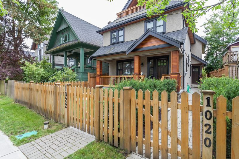 Main Photo: 1020 E 13TH Avenue in Vancouver: Mount Pleasant VE House 1/2 Duplex for sale (Vancouver East)  : MLS® # R2079983