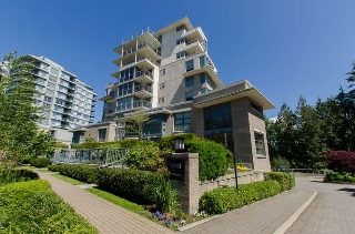 "Main Photo: 711 9232 UNIVERSITY Crescent in Burnaby: Simon Fraser Univer. Condo for sale in ""Novo-2"" (Burnaby North)  : MLS® # R2083523"