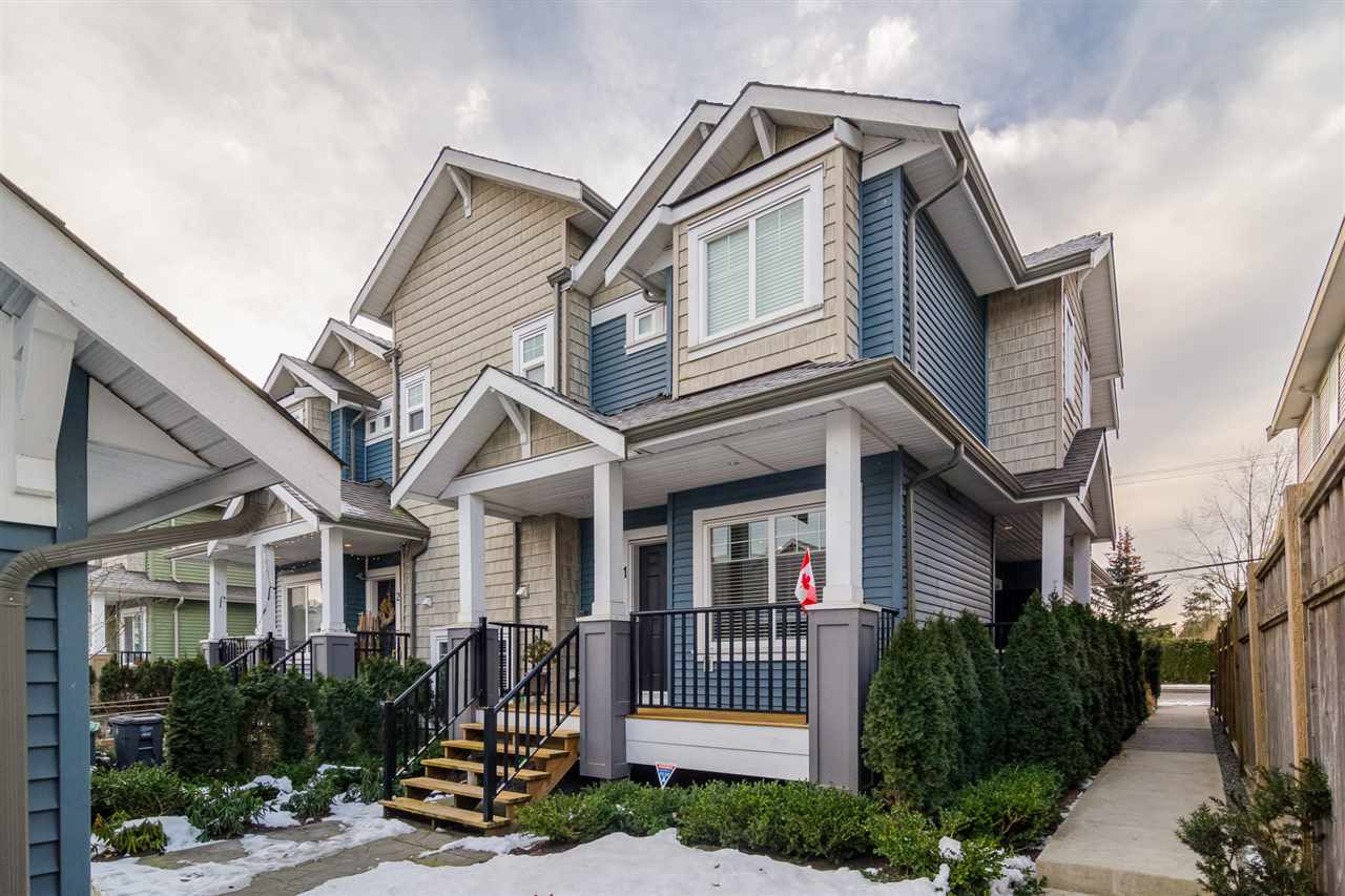 Main Photo: 1 19295 72 AVENUE in : Clayton Townhouse for sale : MLS® # R2129711