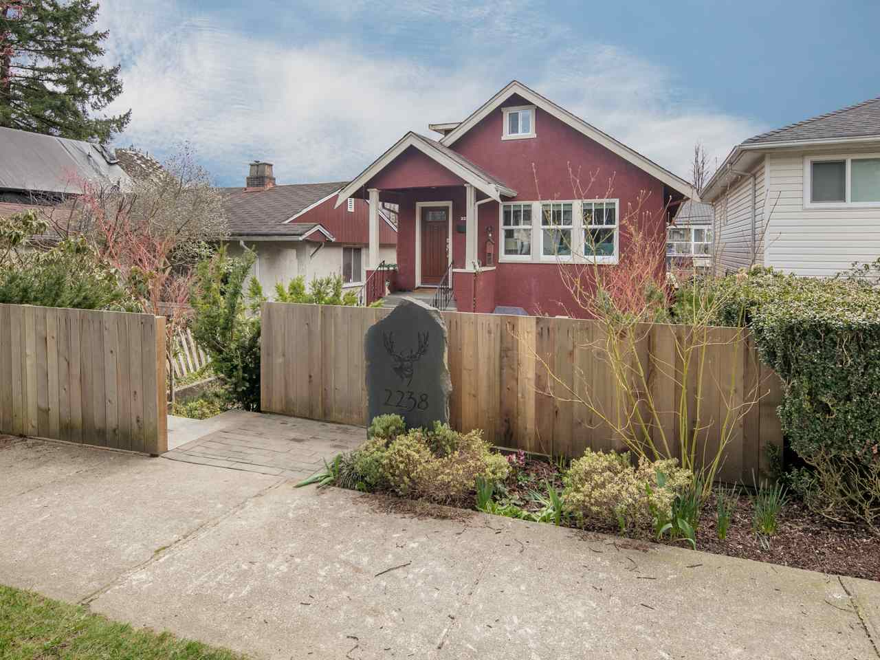 Main Photo: 2238 E 4TH Avenue in Vancouver: Grandview VE House for sale (Vancouver East)  : MLS(r) # R2151917