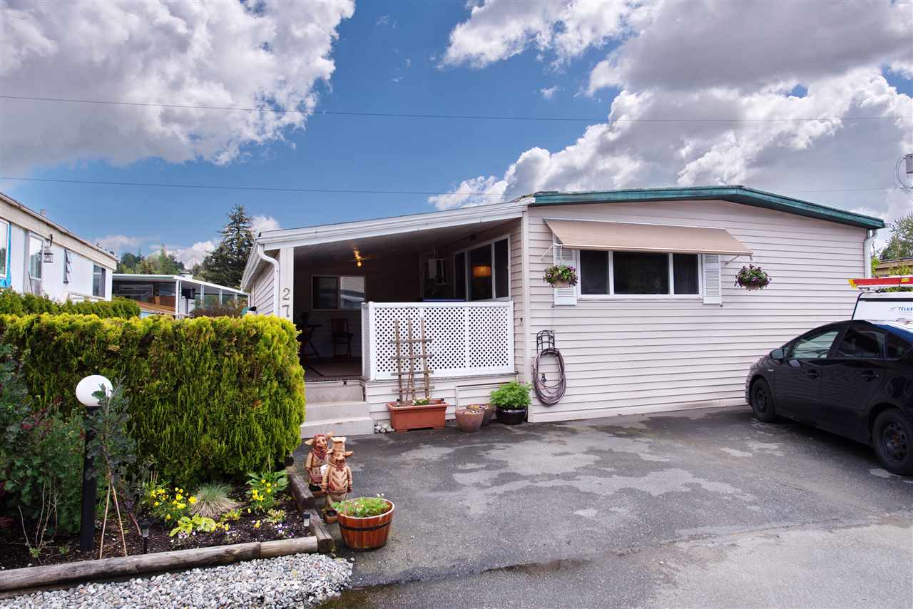 Photo 12: 274 201 CAYER Street in Coquitlam: Maillardville Manufactured Home for sale : MLS® # R2163814