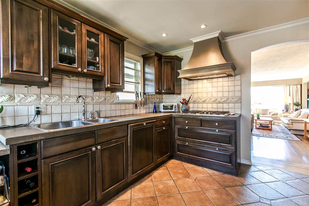 with plenty of custom cabinets