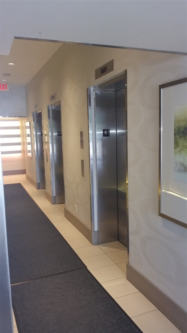 THREE ELEVATORS TO SERVE YOU