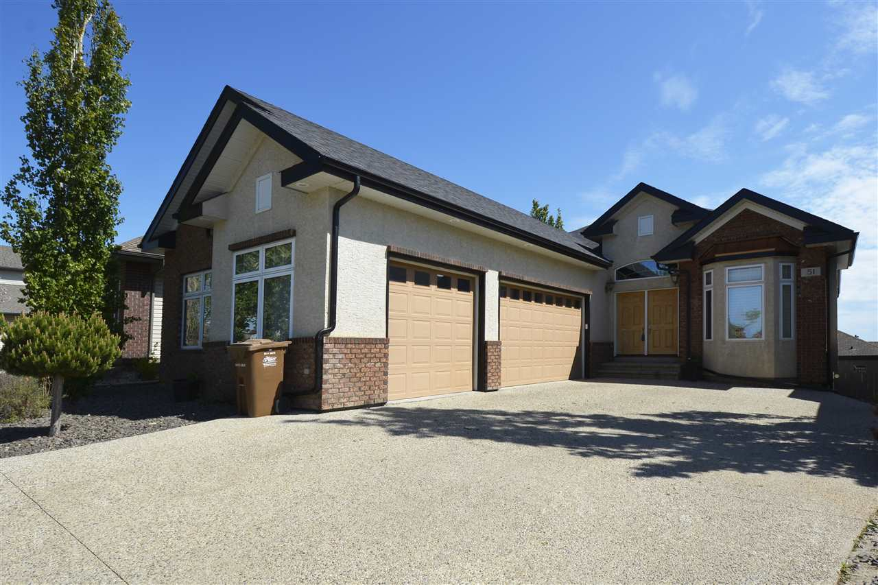 Main Photo: 51 OAK VISTA Drive: St. Albert House for sale : MLS® # E4080952
