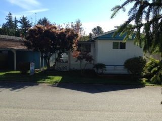 "Main Photo: 4 12868 229 Street in Maple Ridge: East Central Manufactured Home for sale in ""ALOUETTE RETIREMENT MOBILE HOME"" : MLS® # R2212322"