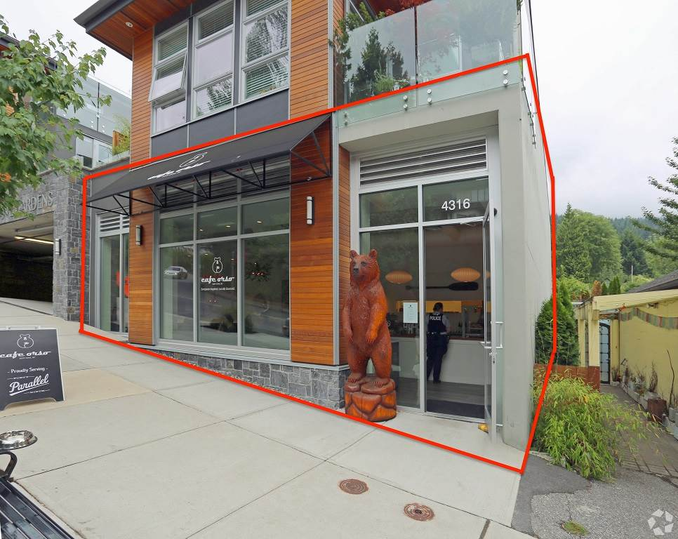 Main Photo: 4316 GALLANT Avenue in North Vancouver: Deep Cove Retail for sale : MLS® # C8016497