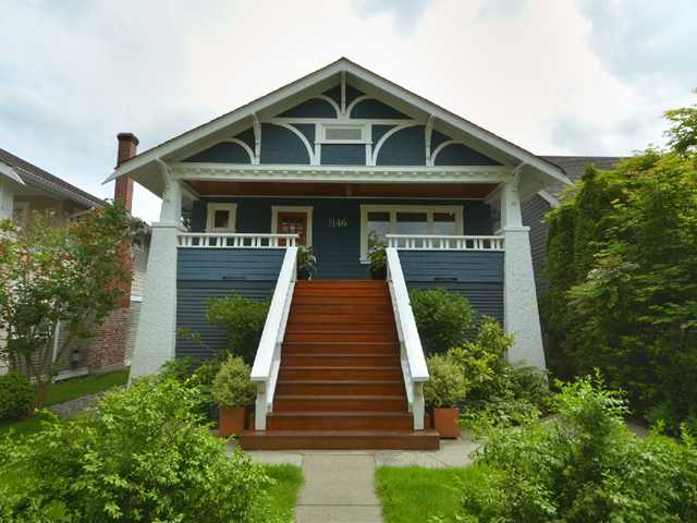 Main Photo: 3146 W 12TH Avenue in Vancouver: Kitsilano House for sale (Vancouver West)  : MLS(r) # V893984