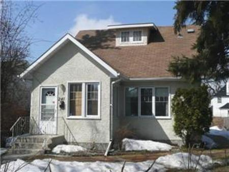 Main Photo: 241 Bartlet AVE in Winnipeg: Residential for sale (Canada)  : MLS(r) # 1105702