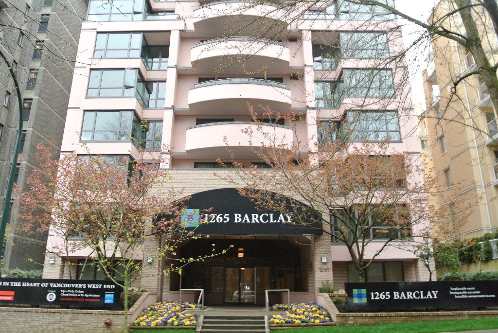 Main Photo: 1265 Barclay Street in Vancouver: West End VW Condo for sale (Vancouver West)