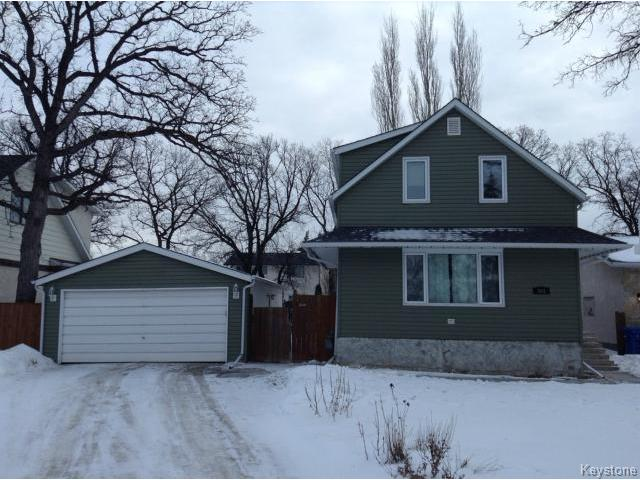 Main Photo: 383 Elmhurst Road in WINNIPEG: Charleswood Residential for sale (South Winnipeg)  : MLS(r) # 1502120