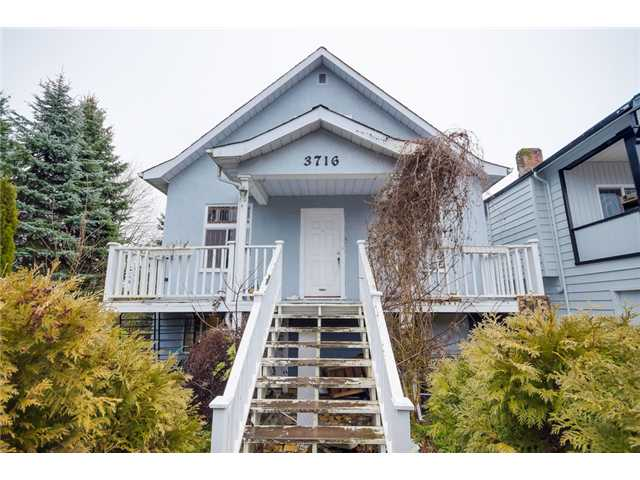 Main Photo: 3716 SLOCAN Street in Vancouver: Renfrew Heights House for sale (Vancouver East)  : MLS(r) # V1102738