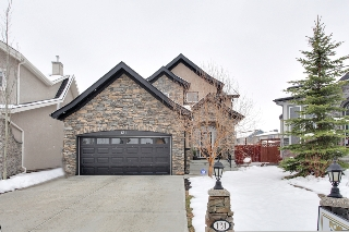 Main Photo: 131 Cougar Plateau Circle SW in Calgary: 2 Storey for sale : MLS(r) # C3614218