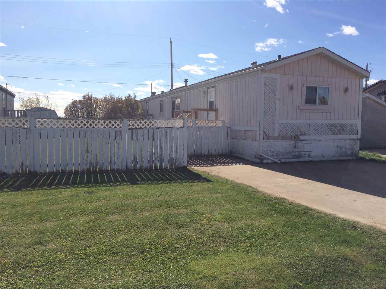 Main Photo: 80 9501 104 Avenue: Westlock Mobile for sale : MLS®# E4039035