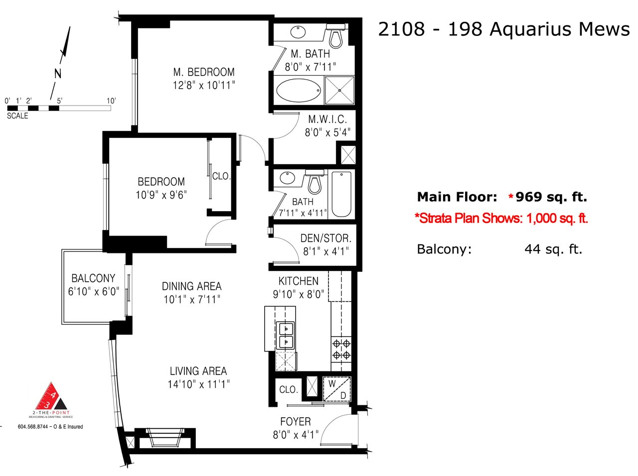 "Photo 20: 2108 198 AQUARIUS Mews in Vancouver: Yaletown Condo for sale in ""THE AQUARIUS"" (Vancouver West)  : MLS® # R2125703"