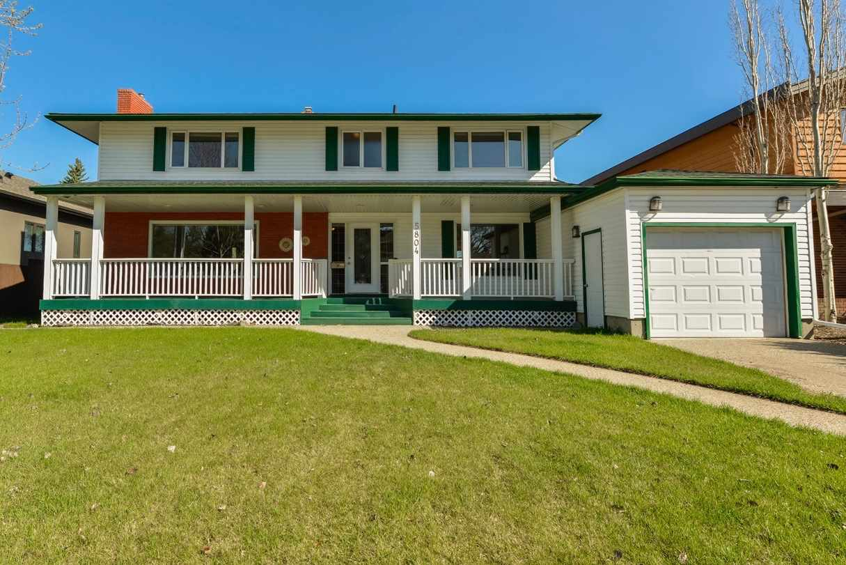Main Photo: 5804 109b Avenue NW in Edmonton: Zone 19 House for sale : MLS® # E4063278
