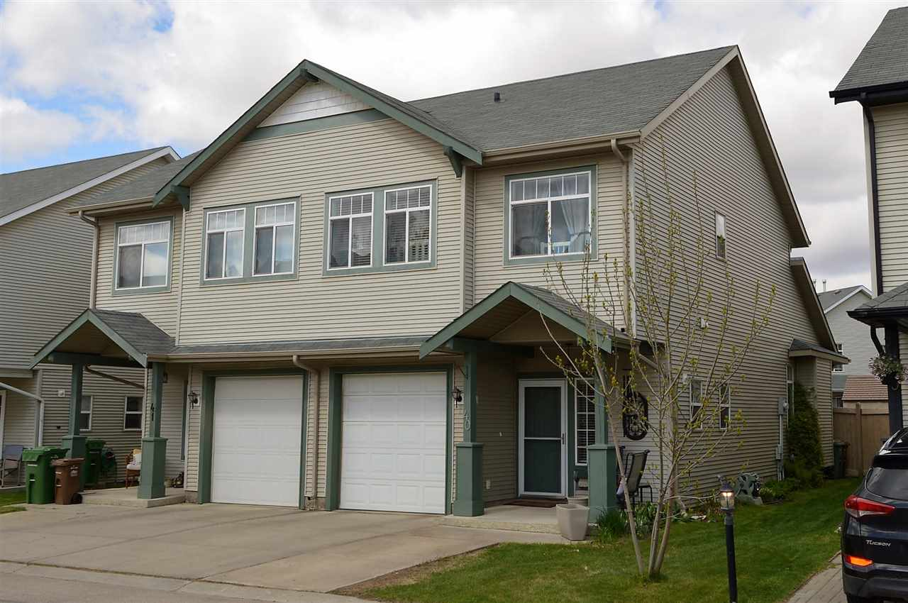 Main Photo: 40 30 LEVASSEUR Road: St. Albert House Half Duplex for sale : MLS(r) # E4064572
