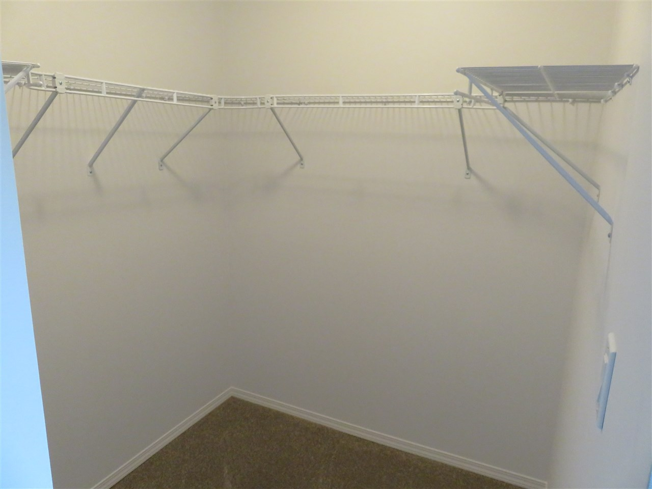 View of the large walk-in Master Bedroom Closet! :)