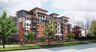 "Main Photo: 504 2229 ATKINS Avenue in Port Coquitlam: Central Pt Coquitlam Condo for sale in ""Downtown Pointe"" : MLS® # R2201122"