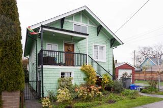 Main Photo: 2243 FERNDALE Street in Vancouver: Hastings House for sale (Vancouver East)  : MLS®# R2257597