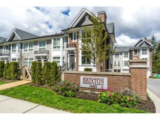 "Main Photo: 65 14433 60 Avenue in Surrey: Sullivan Station Townhouse for sale in ""BRIXTON"" : MLS®# R2290975"