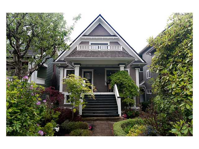 Main Photo: 3668 W 2ND Avenue in Vancouver: Kitsilano House for sale (Vancouver West)  : MLS® # V894204