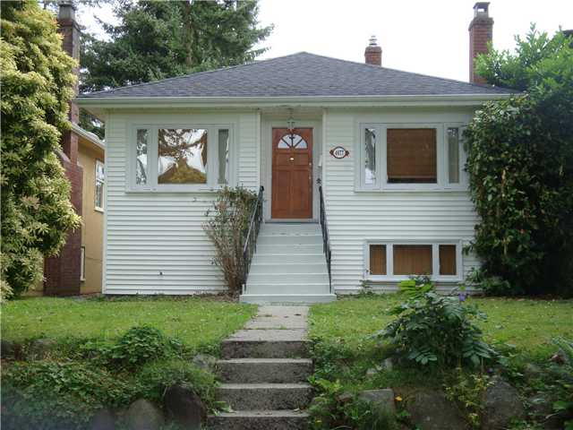 Main Photo: 4077 W 32ND Avenue in Vancouver: Dunbar House for sale (Vancouver West)  : MLS(r) # V903064