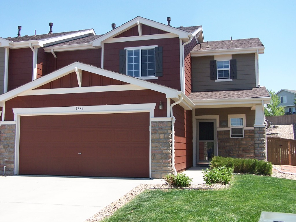 Main Photo: 5683 Raleigh Circle in Castle Rock: Townhouse for sale (Castlewood Ranch)  : MLS® # 1202039