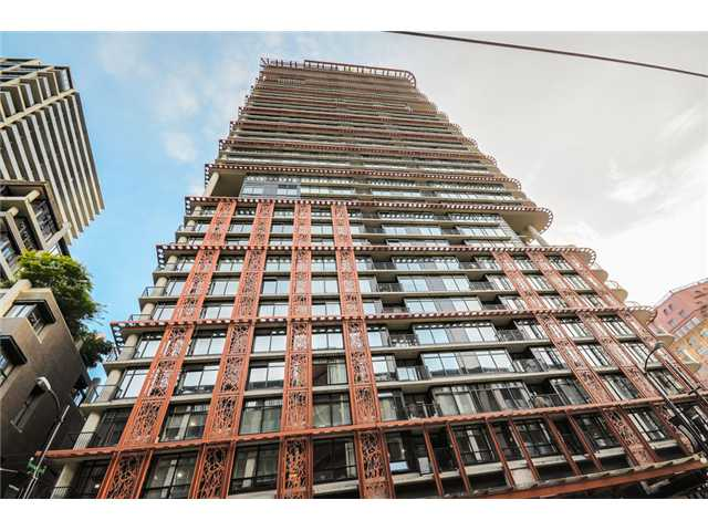 "Main Photo: 702 128 W CORDOVA Street in Vancouver: Downtown VW Condo for sale in ""Woodwards"" (Vancouver West)  : MLS®# V1066426"