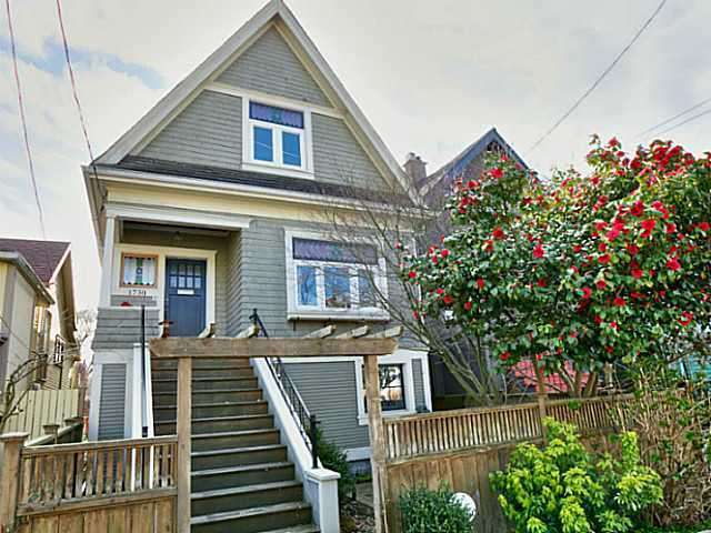 Photo 1: 1730 E 5TH Avenue in Vancouver: Grandview VE House for sale (Vancouver East)  : MLS® # V1108192
