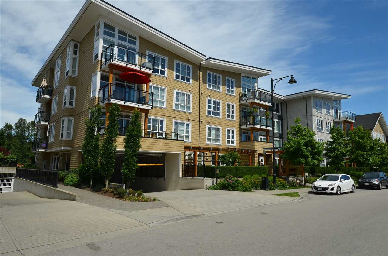 "Main Photo: 408 23255 BILLY BROWN Road in Langley: Fort Langley Condo for sale in ""Village at Bedford Landing"" : MLS®# R2076850"