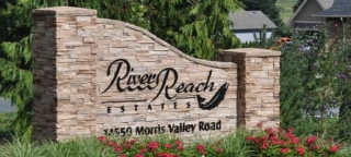 "Main Photo: 42 14550 MORRIS VALLEY Road in Mission: Lake Errock Home for sale in ""River Reach Estates"" : MLS(r) # R2100049"