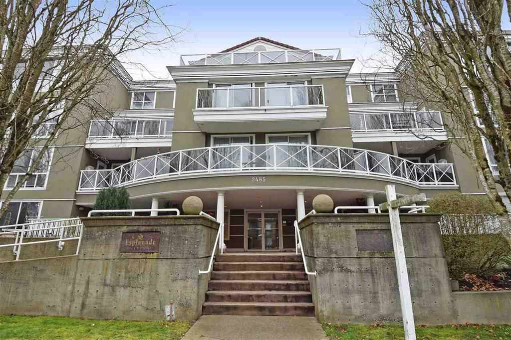 "Main Photo: 107 2485 ATKINS Avenue in Port Coquitlam: Central Pt Coquitlam Condo for sale in ""THE ESPLANADE"" : MLS(r) # R2144153"