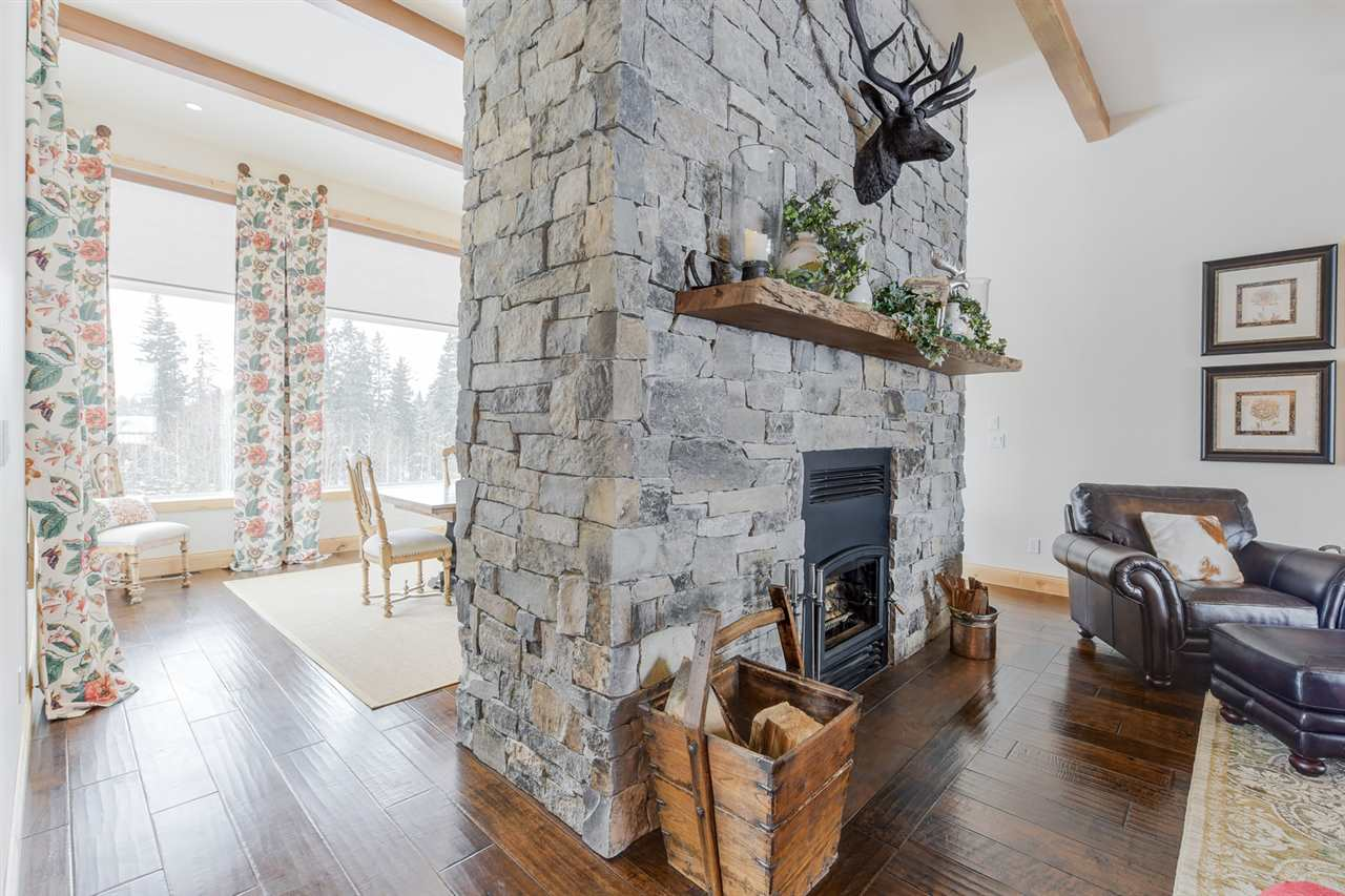 Hi-efficiency wood burning fireplace