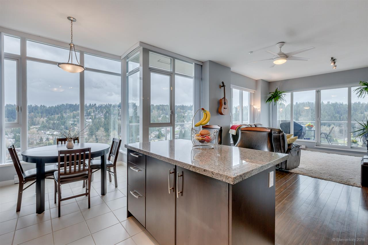 "Main Photo: 2801 651 NOOTKA Way in Port Moody: Port Moody Centre Condo for sale in ""SAHALEE"" : MLS(r) # R2155594"