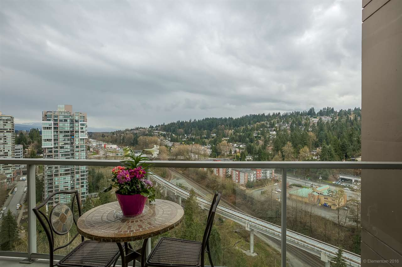 "Photo 17: 2801 651 NOOTKA Way in Port Moody: Port Moody Centre Condo for sale in ""SAHALEE"" : MLS(r) # R2155594"