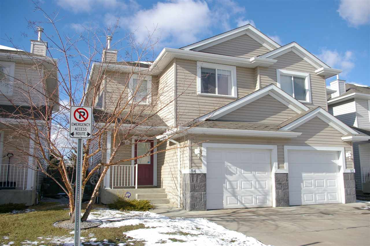 Main Photo: 84 287 MACEWAN Road in Edmonton: Zone 55 House Half Duplex for sale : MLS(r) # E4063078