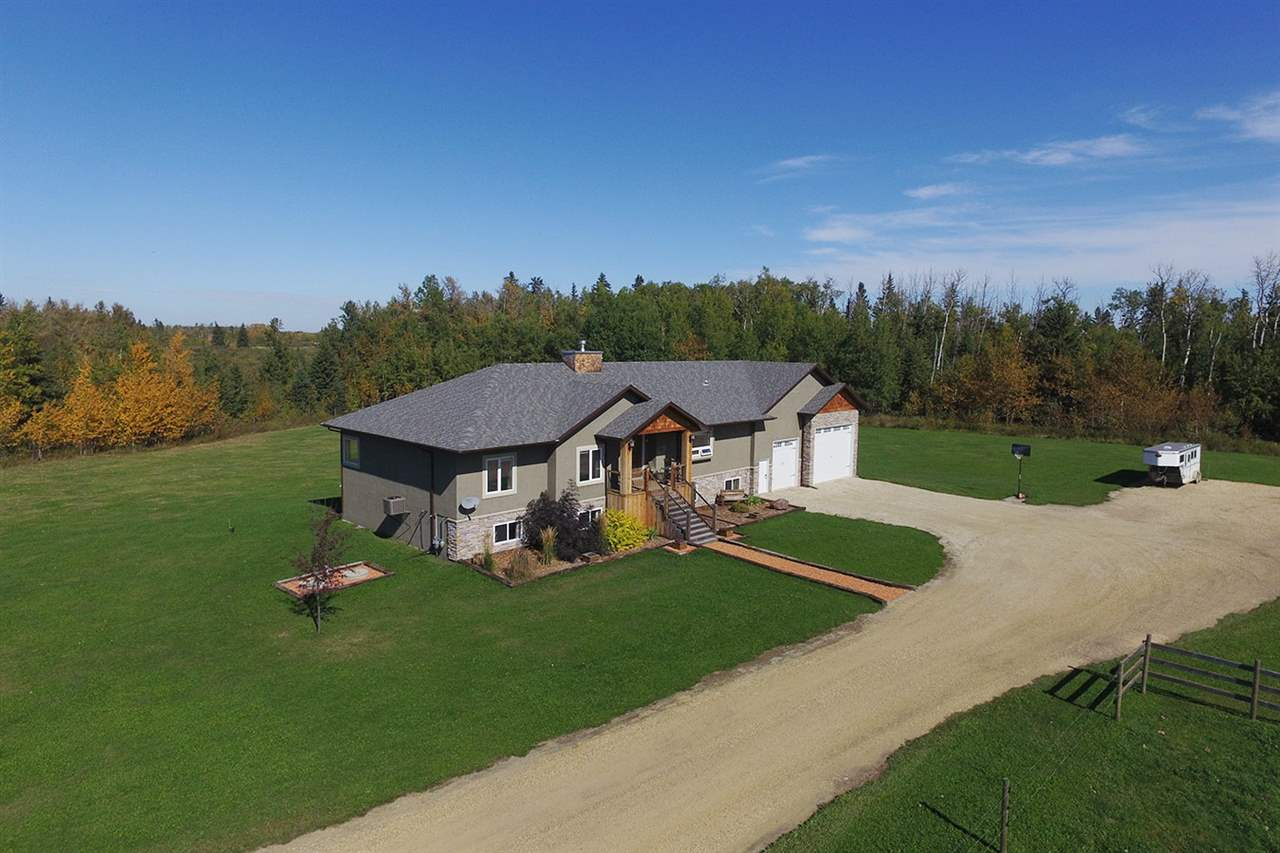 Main Photo: RR2 Rural Wetaskiwin: Rural Wetaskiwin County House for sale : MLS(r) # E4069398