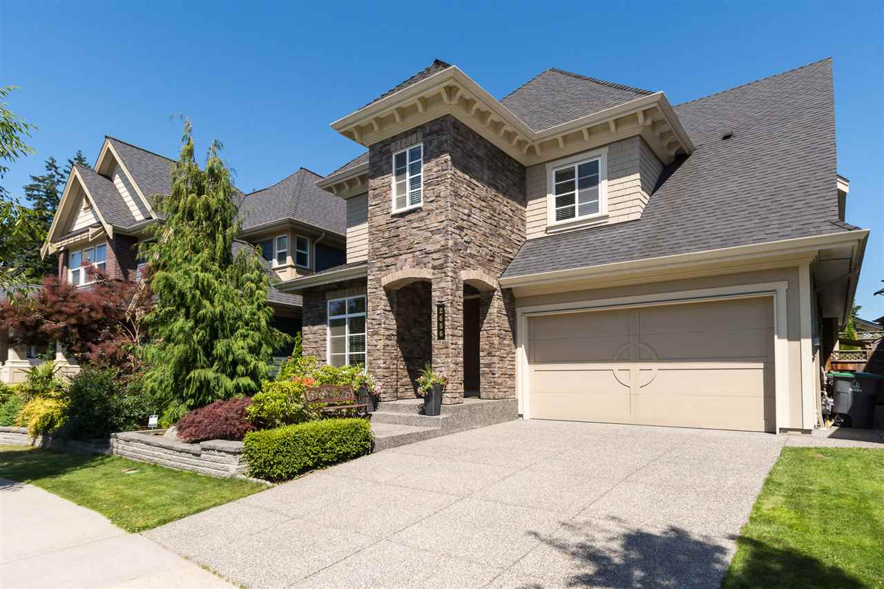 "Main Photo: 2656 162 Street in Surrey: Grandview Surrey House for sale in ""MORGAN HEIGHTS"" (South Surrey White Rock)  : MLS® # R2187205"