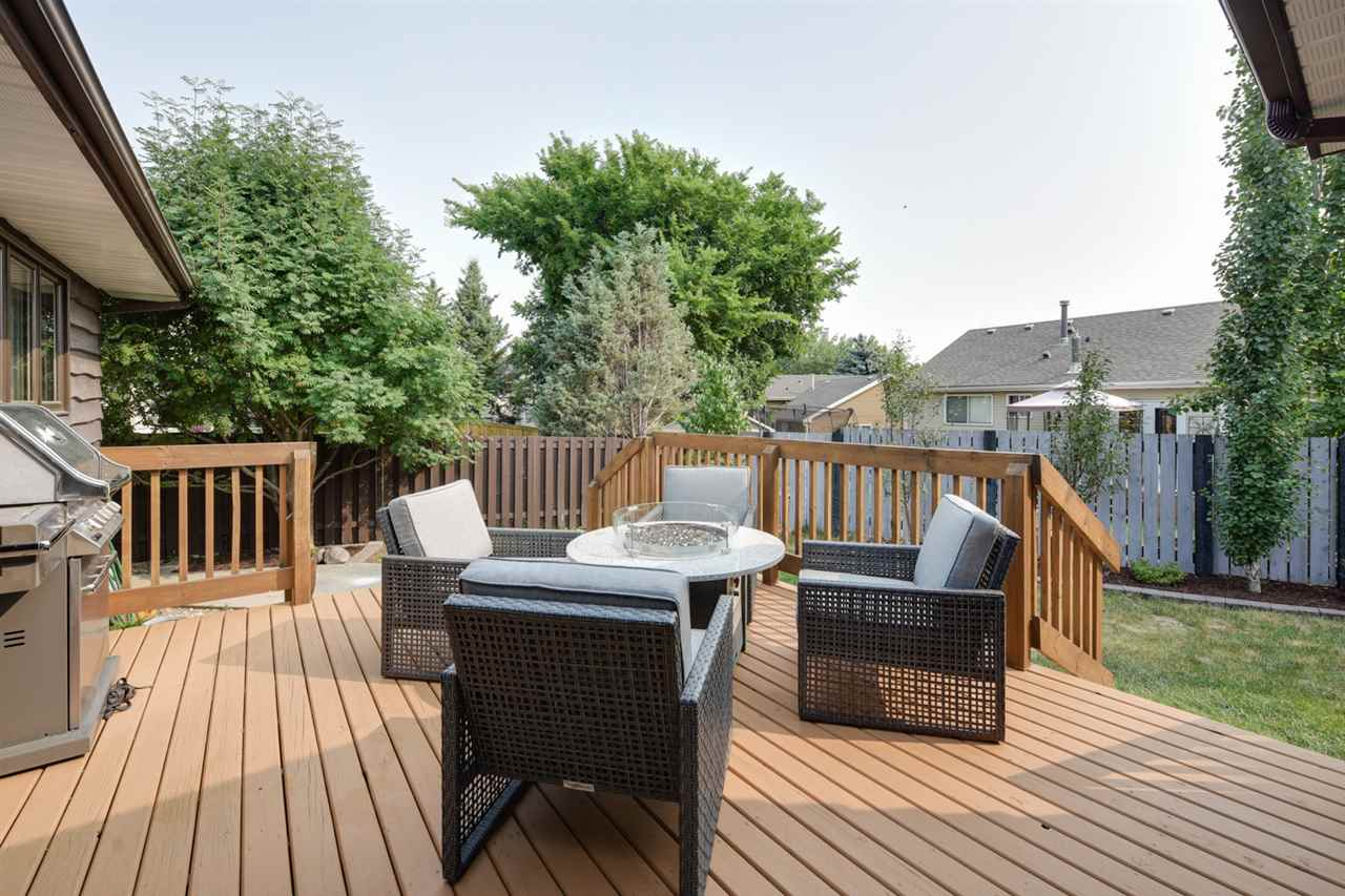 Private Back Yard with Large Deck
