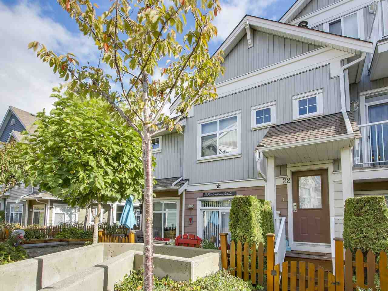 "Main Photo: 22 6300 LONDON Road in Richmond: Steveston South Townhouse for sale in ""MCKINNEY CROSSING"" : MLS® # R2213489"