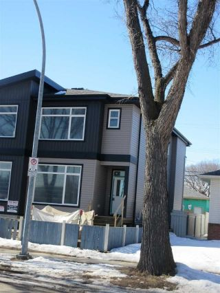 Main Photo: 11506 83 Street NW in Edmonton: Zone 05 House Half Duplex for sale : MLS®# E4102753