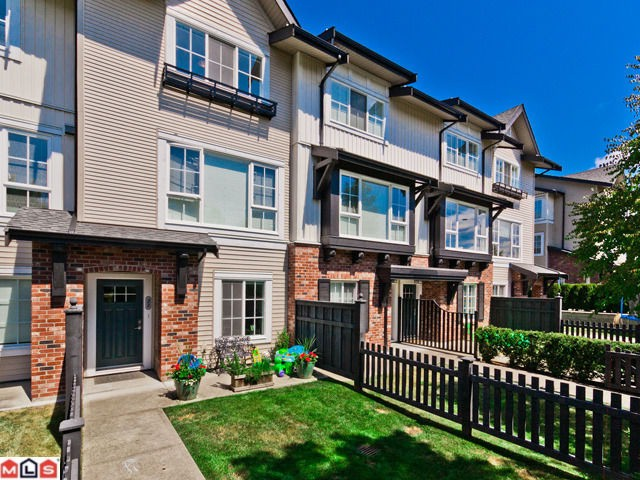 "Main Photo: 22 2450  161A ST in Surrey: Grandview Surrey Townhouse for sale in ""GLENMORE"" (South Surrey White Rock)  : MLS® # F1220320"
