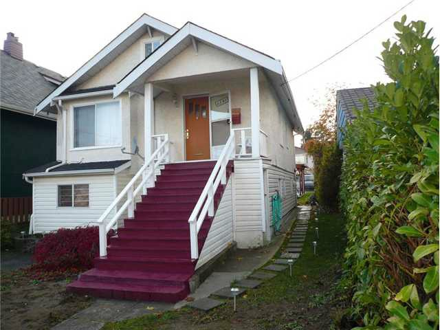 Main Photo: 4583 ELGIN Street in Vancouver: Fraser VE House for sale (Vancouver East)  : MLS® # V1111401