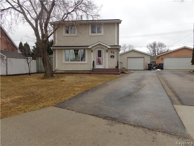 Main Photo: 64 Leicester Square in Winnipeg: St James Residential for sale (West Winnipeg)  : MLS® # 1608158
