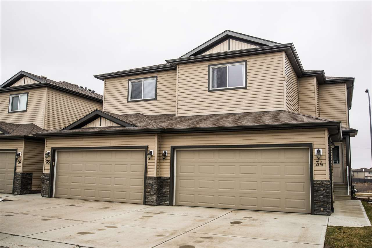 Main Photo: #34 445 BRINTNELL Boulevard in Edmonton: Zone 03 Townhouse for sale : MLS(r) # E4061425