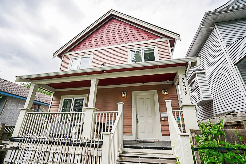 Main Photo: 2053 E 1ST Avenue in Vancouver: Grandview VE House 1/2 Duplex for sale (Vancouver East)  : MLS® # R2171174