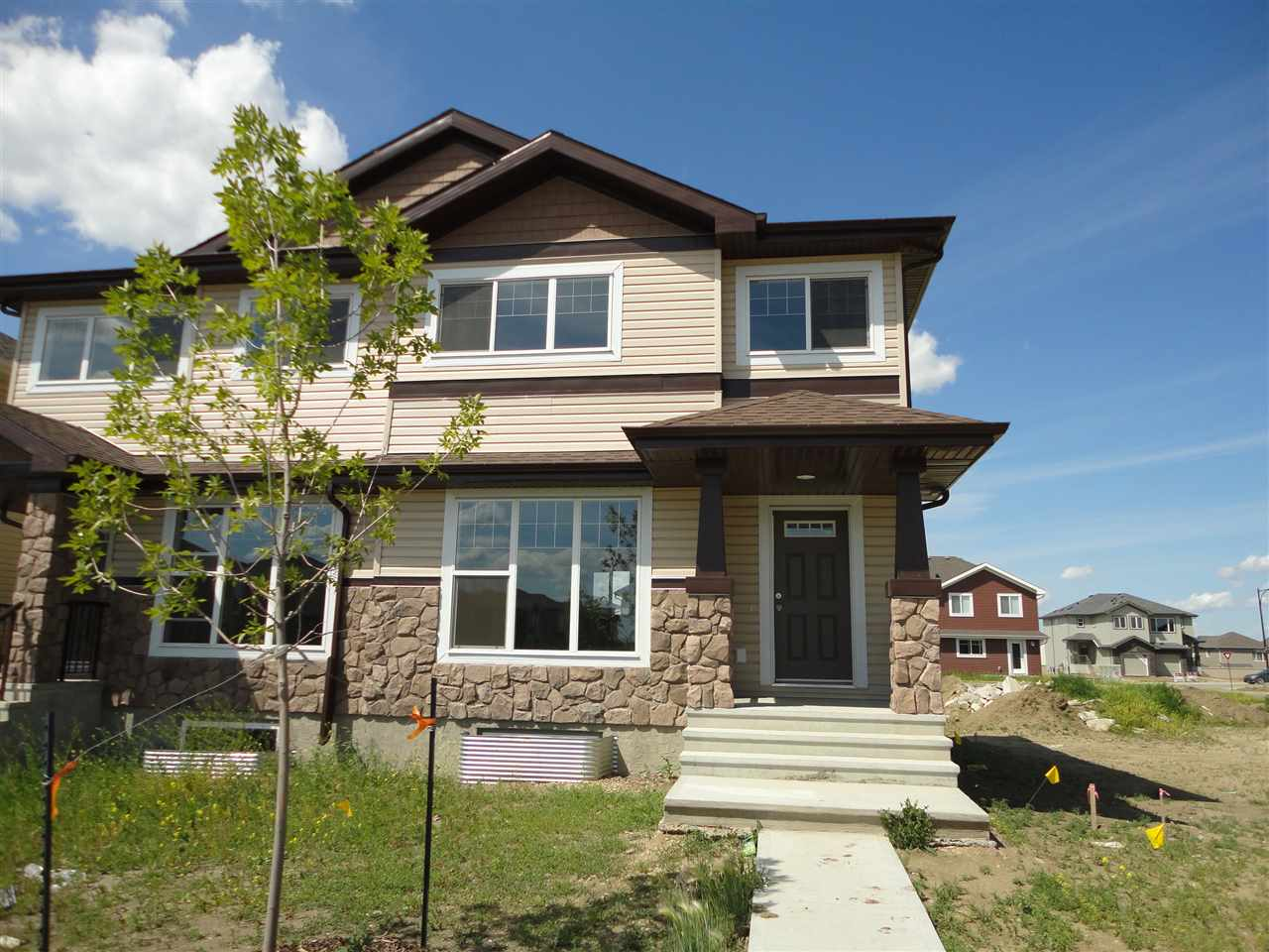 Main Photo:  in Edmonton: Zone 53 House Half Duplex for sale : MLS(r) # E4071130